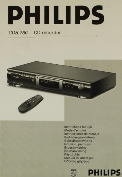 Philips CDR 760 Bedienungsanleitung