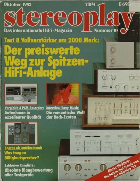 Stereoplay 10/1982 Zeitschrift