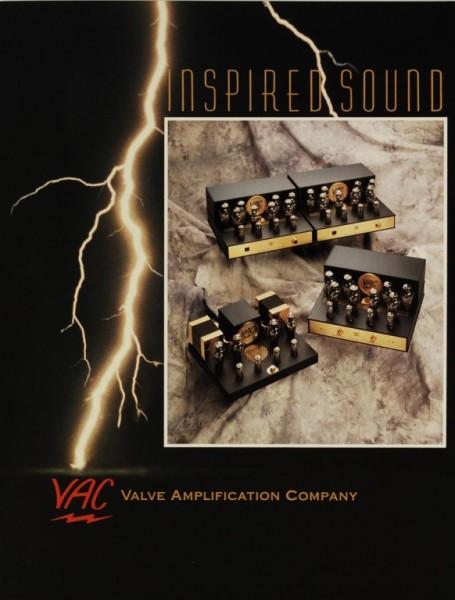 VAC Inspired Sound (1994) Prospekt / Katalog