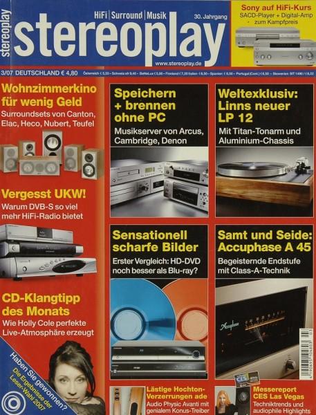 Stereoplay 3/2007 Zeitschrift