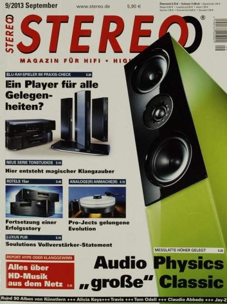 Stereo 9/2013 Zeitschrift