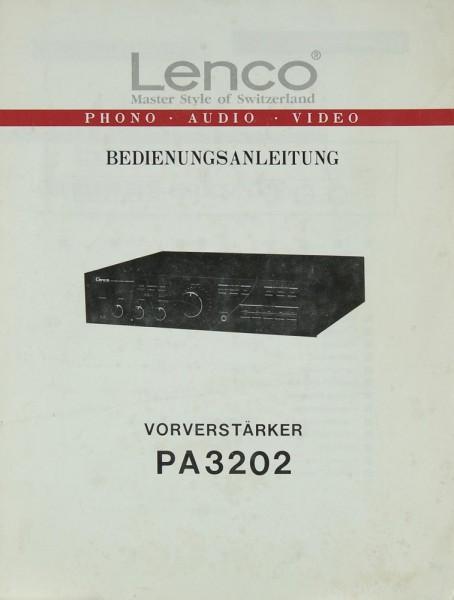 Lenco PA 3202 Bedienungsanleitung