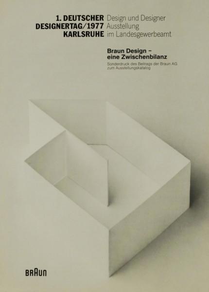 Braun Braun Desighn - Eine Zwischenbilanz ( 1977) Prospekt / Katalog