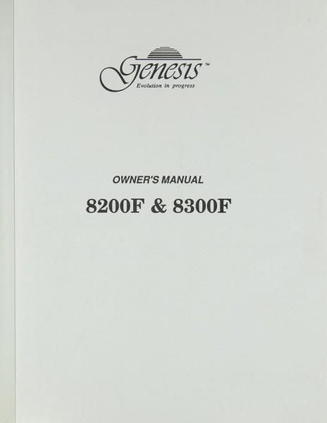 Genesis 8200 F / 8300 F Bedienungsanleitung