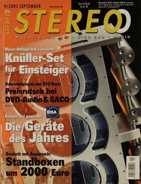 Stereo 9/2002 Zeitschrift