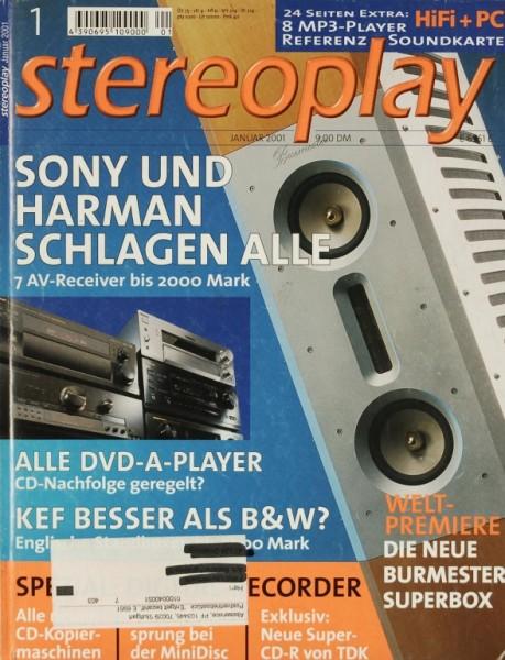 Stereoplay 1/2001 Zeitschrift