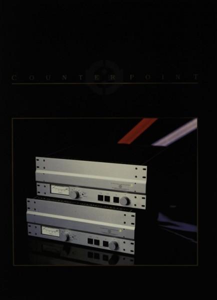 Counter Point Produktübersicht Prospekt / Katalog