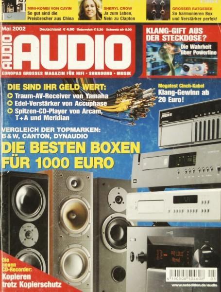 Audio 5/2002 Zeitschrift