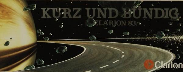 Clarion Clarion 83 - Kurz und bündig Prospekt / Katalog