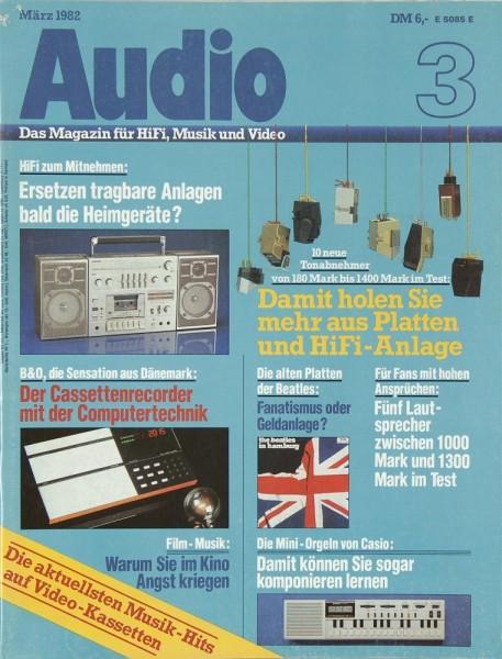 Audio 3/1982 Zeitschrift