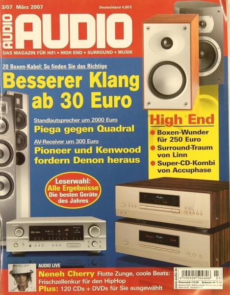 Audio 3/2007 Zeitschrift