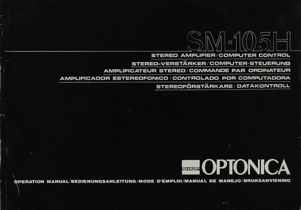 Sharp Optonica SM-105 H Bedienungsanleitung