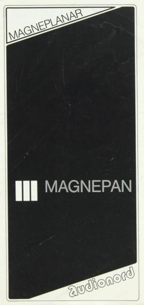 Magneplanar Magnepan Prospekt / Katalog