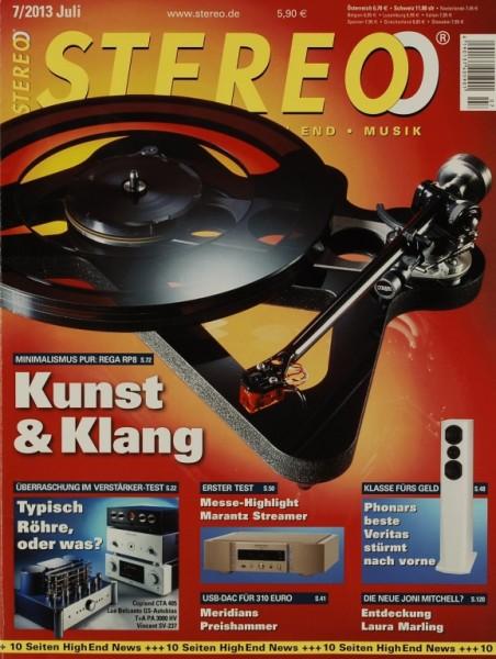 Stereo 7/2013 Zeitschrift