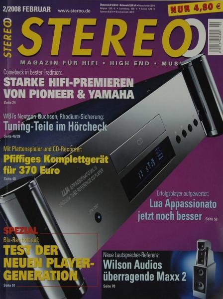 Stereo 2/2008 Zeitschrift