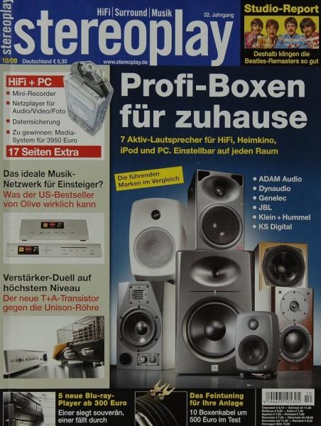 Stereoplay 10/2009 Zeitschrift