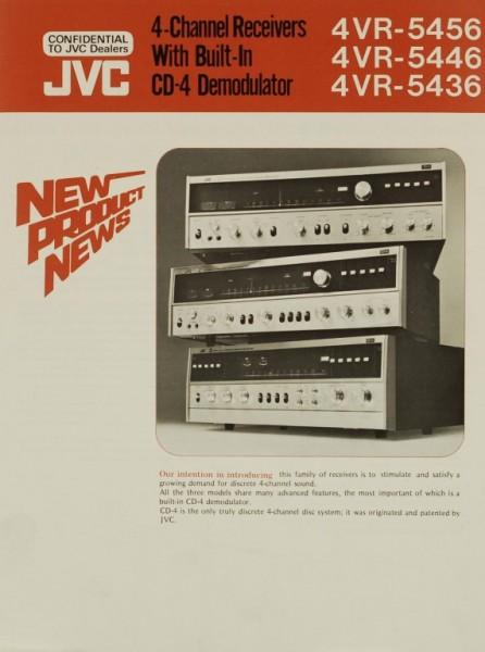 JVC 4VR-5456 / 4VR-5446 / 4VR-5436 Prospekt / Katalog