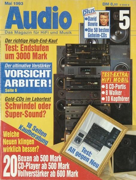 Audio 5/1993 Zeitschrift
