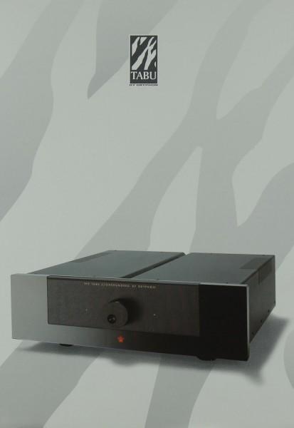 Gryphon Tabu 2/100 & 3/100 Prospekt / Katalog