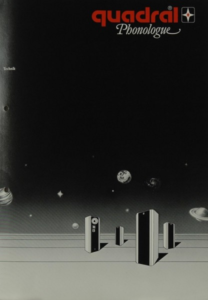 Quadral Phonologue Prospekt / Katalog
