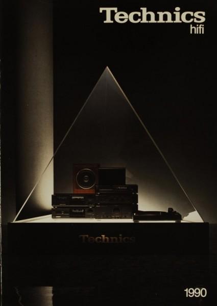 Technics Technics hifi 1990 Prospekt / Katalog