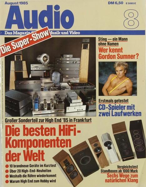 Audio 8/1985 Zeitschrift