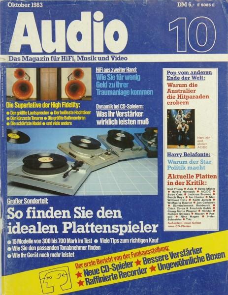 Audio 10/1983 Zeitschrift