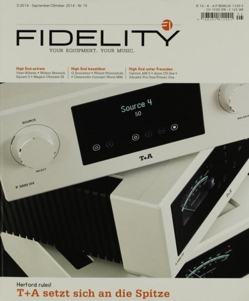 Fidelity Nr. 15 - 5/2014 Zeitschrift