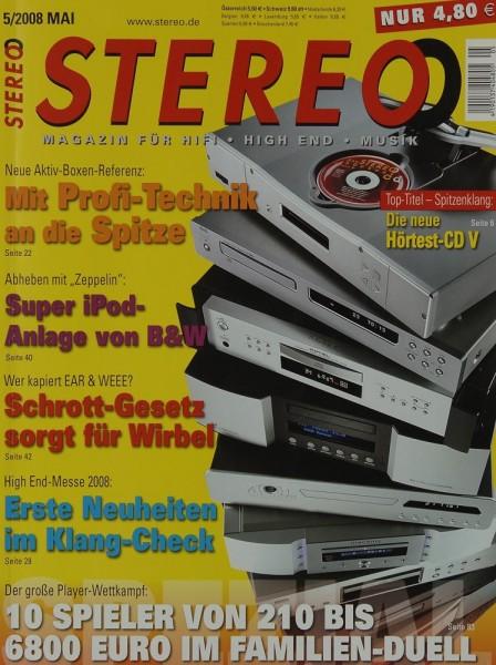 Stereo 5/2008 Zeitschrift