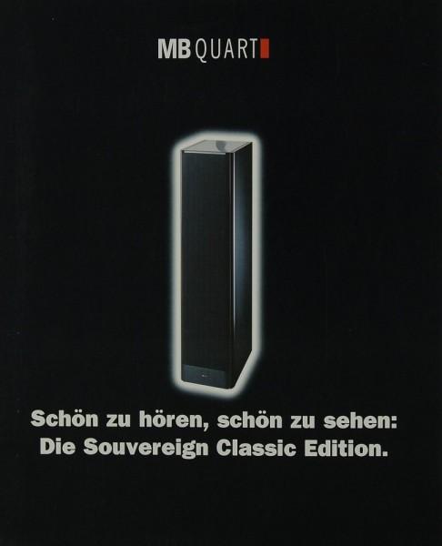 MB Quart Quart Prospekt / Katalog