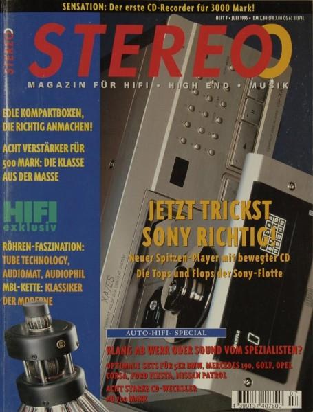 Stereo 7/1995 Zeitschrift