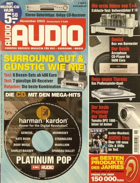 Audio 11/2003 Zeitschrift