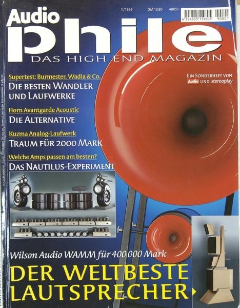 Audiophile 1/1999 Zeitschrift