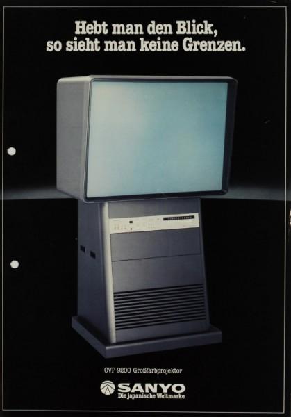 Sanyo CVP 9200 Prospekt / Katalog