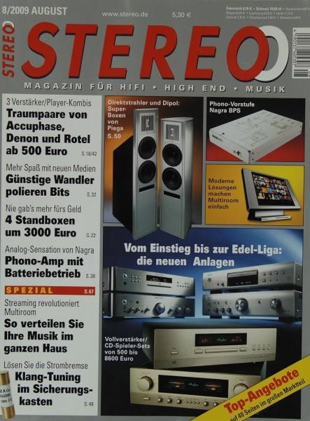 Stereo 8/2009 Zeitschrift
