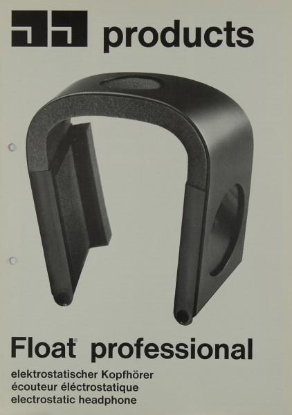 JJ Products Float Professional Prospekt / Katalog