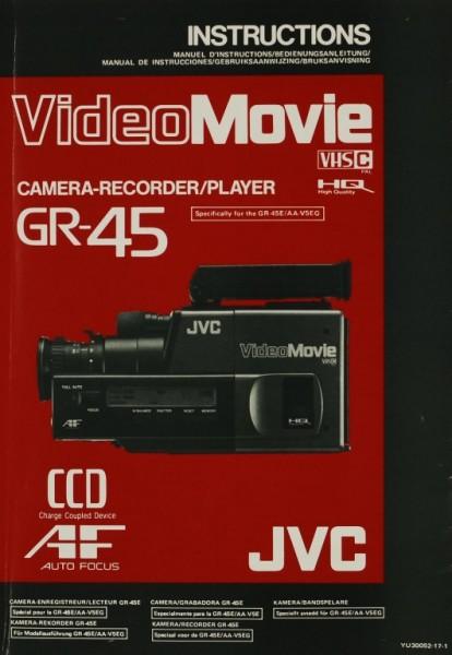 JVC GR-45 / VideoMovie Bedienungsanleitung