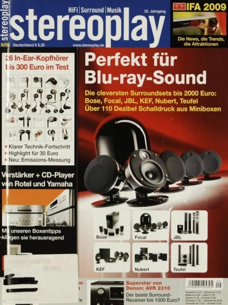 Stereoplay 9/2009 Zeitschrift