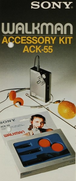 Sony Accessory Kit ACK-55 Prospekt / Katalog