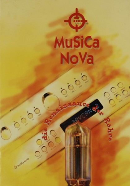 Musica Nova Die Renaissance der Röhre Prospekt / Katalog