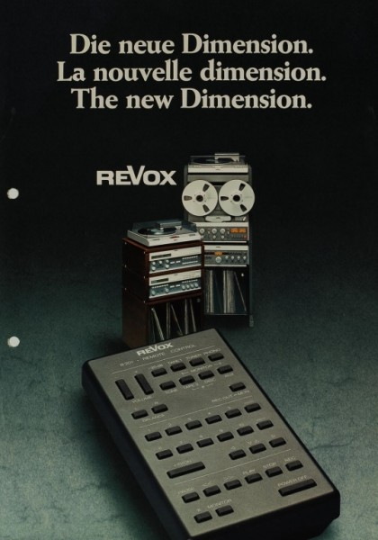 Revox B 201 Prospekt / Katalog