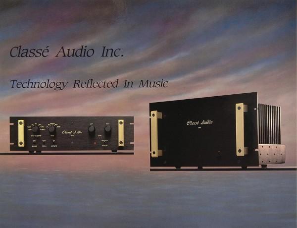 Classé Audio DR-7 / DR-3 b / NIL-2 Prospekt / Katalog