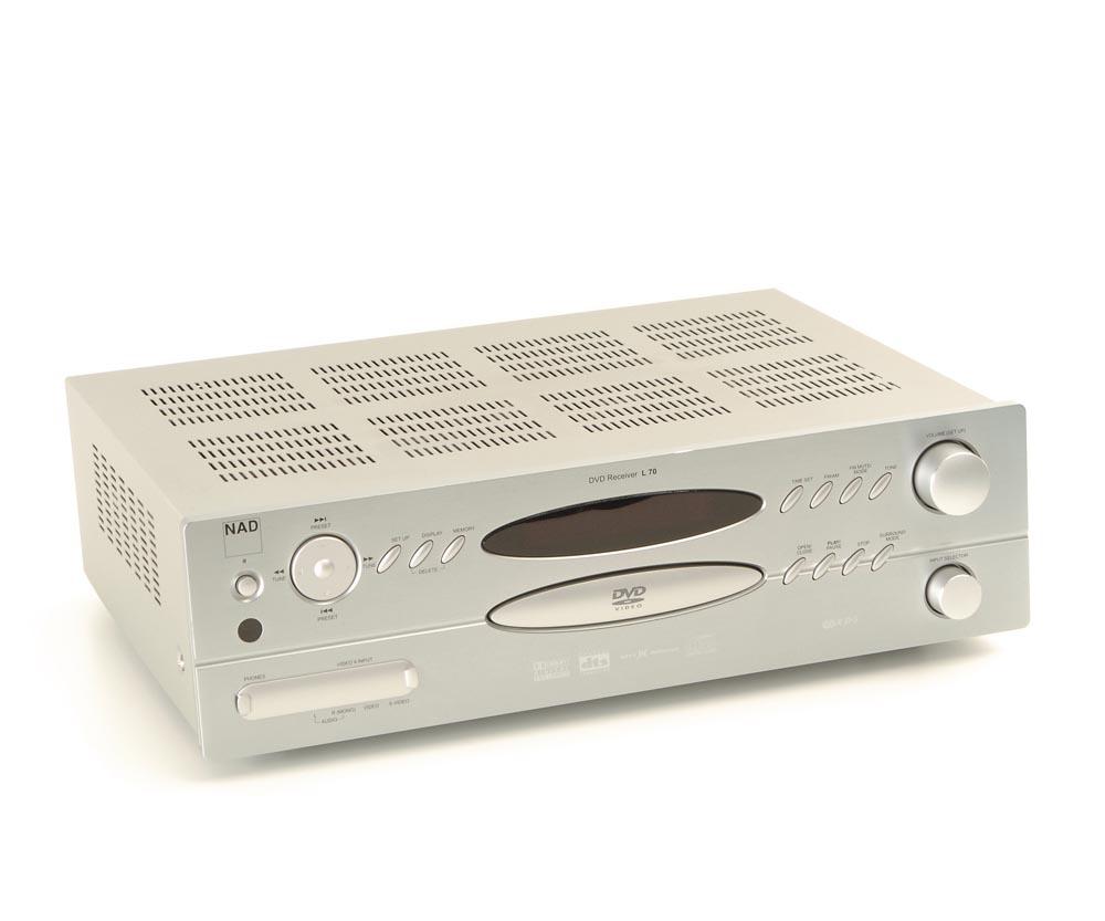 nad l 70 dvd receiver receiver mit integ dvd receiver. Black Bedroom Furniture Sets. Home Design Ideas