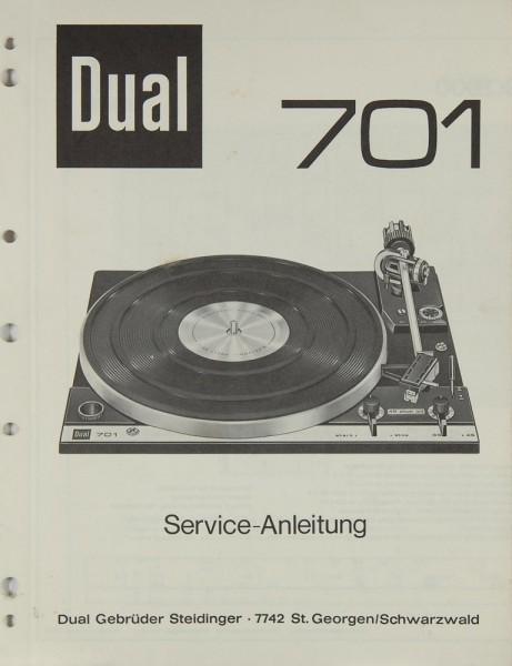Dual 701 Bedienungsanleitung