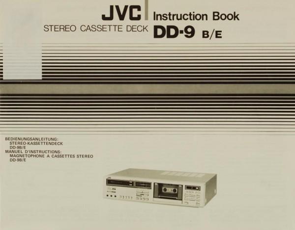 JVC DD-9 (B/E) Bedienungsanleitung