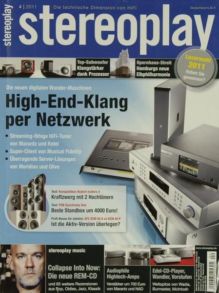Stereoplay 4/2011 Zeitschrift