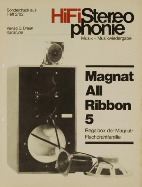 Magnat All Ribbon 5 Testnachdruck