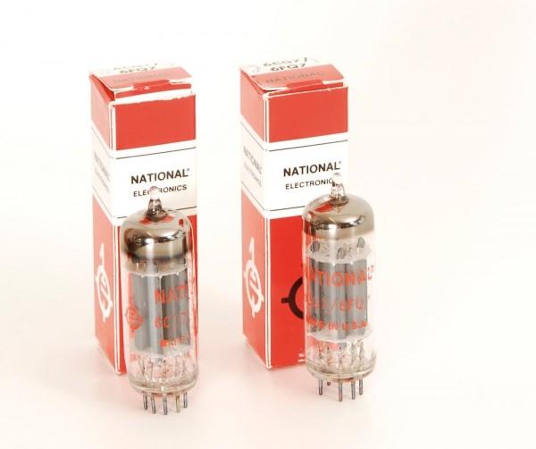 National 6CG7 / 6FQ7 Paar