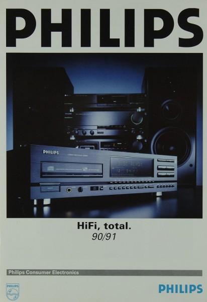 Philips HiFi total 90/91 Prospekt / Katalog