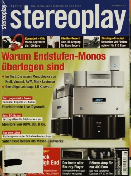 Stereoplay 6/2010 Zeitschrift
